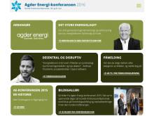 Agder Energi-konferansen 2016