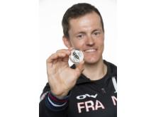 Sami Jauhojärvi ja Sotshin olympiaraha