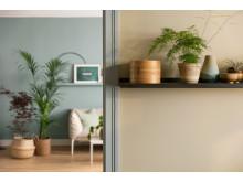 En leilighet - tre stiler.