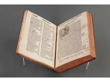 Gesta Danorum med ägaranteckning från Birgittahuset i Rom