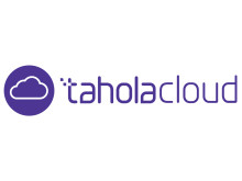 Cloud - Purple on White - TaholaCloud & Logo