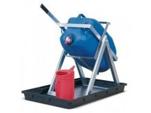 Dunktipp - avtappningsbock för säker kemikaliehantering.