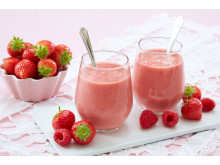 Jordbær-smoothie