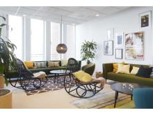 Lounge med utsikt över Öresund