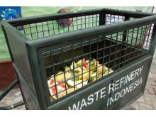 Fruktavfall blir biogas