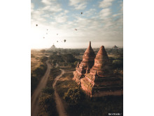2018 SkyPixel Contest-Photo Group-Second Prize-Architecture-Bagan