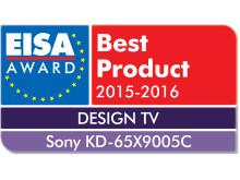 EISA award Sony KD-65X9005C