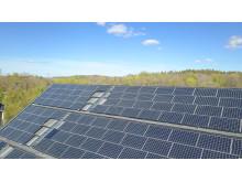 Plusenergihus solceller tak