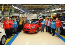 En miljon Fiat Grande Punto tillverkade
