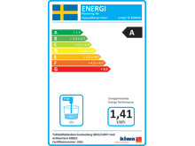 Energimärkning A -tvättställsblandare