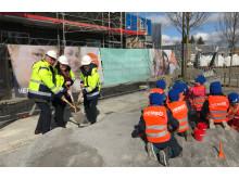 Wästbygg utvecklar och bygger förskola och skola i Haninge.