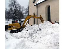 Äldsta kyrkan först med fjärrvärme från Gävle Energi
