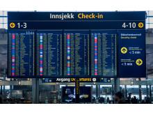 Аэропорт Осло - крупный внутренний пересадочный узел