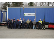 Första leveransen 2014 av Zenergy ZIP-bodar till Skanska Maskin AB