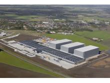 JYSKs ditributionscenter i Uldum skal nu udvides med et fjerde højlager