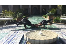 Marrakech Garden Yoga_Source NOSADE