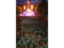 Starten för Midnattsloppet Stockholm 2016