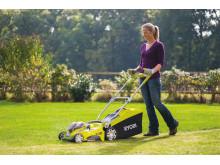 36V uppladdningsbar gräsklippare, RLM18X40H240