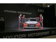 New Generation Hyundai i20 WRC avtäckning