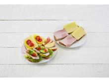 Litt grønnsaker og frukt løfter alle dagens måltider.