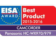 EISA Award: Best Camcorder - Panasonic WX970