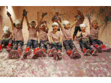 Design Passion barn målar efter