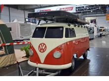 Ein Klassiker: Auch der VW-Bus wird auf der Touristik & Caravaning 2019 gezeigt