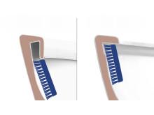 Gustavsberg Nautic 1500 Hygienic Flush - öppen spolkant