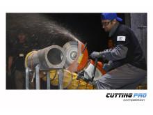 TYROLIT Cutting Pro Competition Luigi Zamperini tävlande för Italien