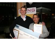 Vinnarteamet i finalen av STINGs Startupprogram 2010