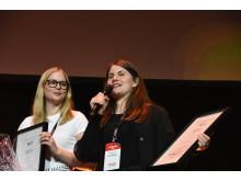 Ett hedersomnämnande går till Rut Näsman och Ingrid Zetterlund från Sveriges Lantbruksuniversitet – SLU Alnarp