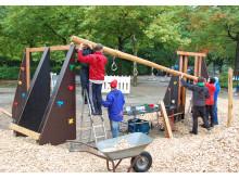 Spielplatzprojekt - Bauphase 5