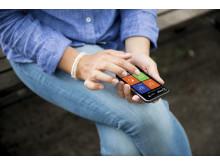 Xledger på mobil