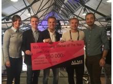 JustFootball & Almi Invest