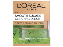 L'Oréal Paris Smooth Sugars  Clearing Scrub puhdistava sokerikuorinta