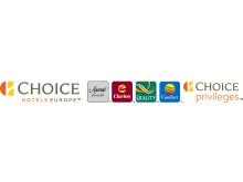 Logo Horizontal Choice Hotels Europe