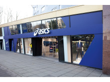 ASICS Flagship store Amsterdam exterior