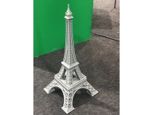 3D-printed Eiffel Tower