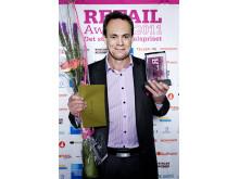 Vinnare Årets e-handel Retail Awards 2011