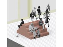 Clara von Zweigbergk deltar i Public Luxury med sitt förslag på infartshinder