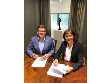 Nordea utvider samarbeidsavtalen med Ungt Entreprenørskap.