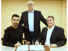 Fatih Koyuncu, Oliver Thiele, Georg Schlegel, Signing