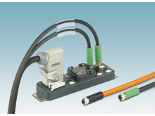 Distributor box for power applications