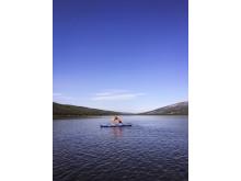 SUP-yoga på Åresjön - en del av Active Inclusive