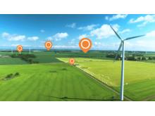 Bixias närproducerade el sätts på kartan