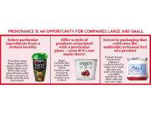Provenance is an opportunity for companies large and small