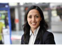 Denise Mühlleitner (36) ist seit Ende April Leiterin der neuen Stabsabteilung  Unternehmenskommunikation bei der Stadtsparkasse München.