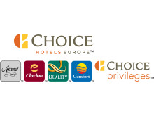Choice Hotels Europe Logo. Extreme Horizontal