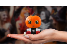 Kirobo Mini som Halloween-pumpa