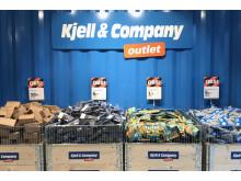 Fyndbackar i Kjell & Companys outlet